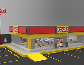 Oxxo - Convenience Store 3D