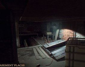 3D model Urban Basement Places