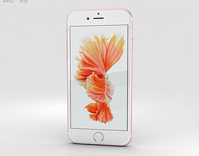 3D Apple iPhone 6s Rose Gold