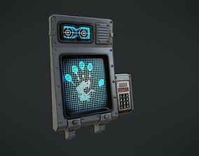 Eye Scan 3D model