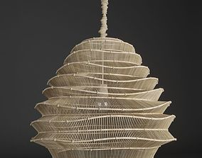 chandelier Roost Bamboo Cloud Chandelier 3D