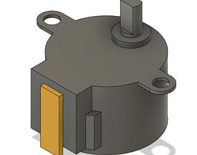Stepper Motor 3D print model
