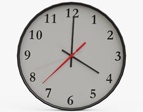 Wall Clock 02 3D model
