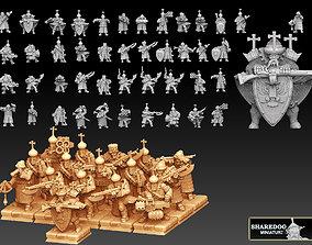 3D printable model Tekno- Streltsy Regiment Megapack
