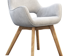 A310H Space Dining Chairs 3D
