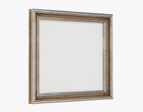 Frame square with picture 03 3D model