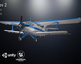 Antonov 2 3D asset