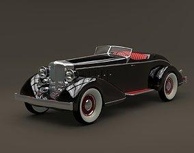 3D model 1932 Chrysler Imperial Speedster