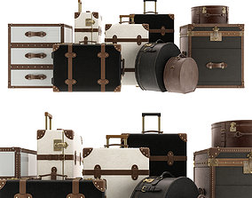 Suitcases Collection 3D model