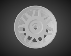 3D print model F52 Snowflake for Hot Wheels