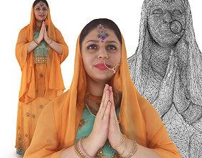 3D asset Indian Fiancee