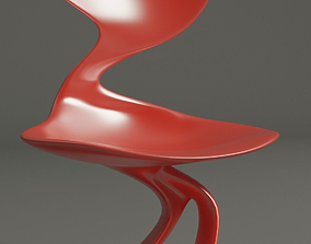 3D printable model Smooth chair