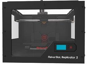 3d printer low-poly