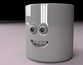 3D Mug with face