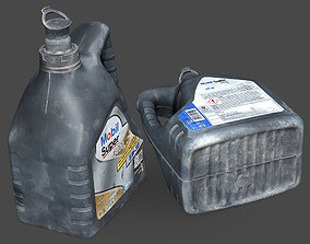 3D Engine Oil Canister