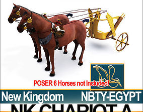 3D model Ancient Egyptian Chariot A New Kingdom