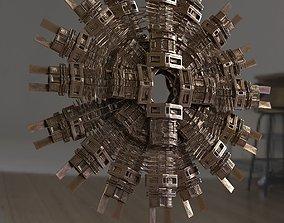 3D Wall art structure Tribal