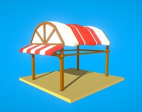 3D asset HIE Empty Shop N1