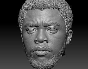 Black Panther T Challa Chadwick Boseman 3D printable model