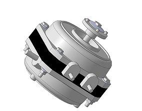 3D print model 5W fan motor