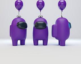 3D Among Us Mini Balloon Character