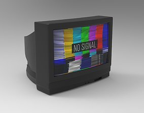 Television 3D Model realtime