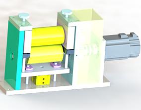 3D Coil film conveying mechanism