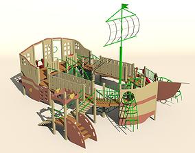 Playground Frigate 3D model