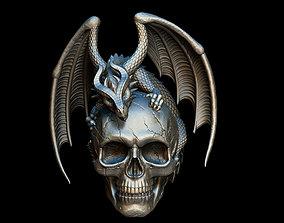 jewelry Dragon Skull 3D printable model