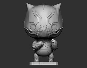 3D printable model Black Panther Mini Figure Sculpt