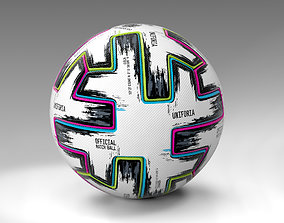 Uniforia Official Euro 2020 Match Ball 3D model