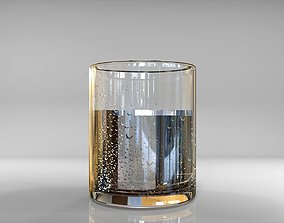3D water glass