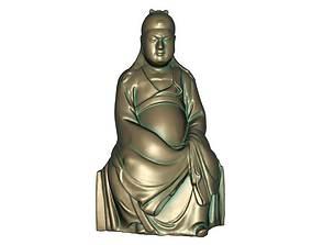 Guan Gong 3D print model 3D model