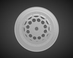 Rotiform HVN rims for Hot Wheels 3D print model