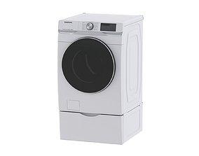 3D model Samsung WF6300 Smart Front Load Washer