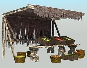 3D Medieval Market