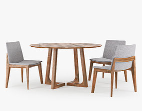 3D model Cress Dining Table