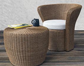 3D VARASCHIN Bolero Easy Chair