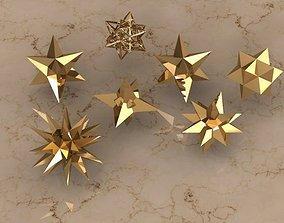 HOLIDAY STARS 3D print model