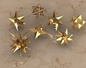 HOLIDAY STARS 3D printable model
