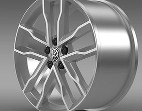 Volkswagen Polo TSI Bluemotion rim 3D model