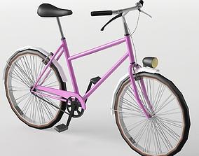 3D asset Bike City