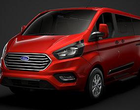 Ford Tourneo Custom L2H1 2020 3D
