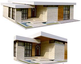 modern villa vol13 3D model