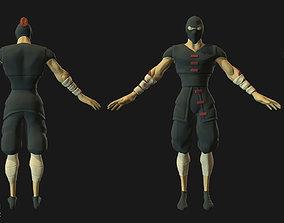 Shinobi 3D asset