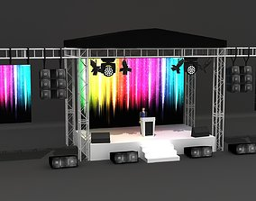 3d Exterior Stage Truss Systems