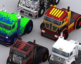 3DRT - Road Rush Heavy Trucks realtime