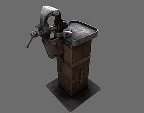 Table Vise 3D asset