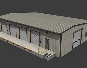 Warehouse 3D model realtime