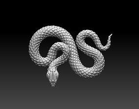 art snake 3D print model